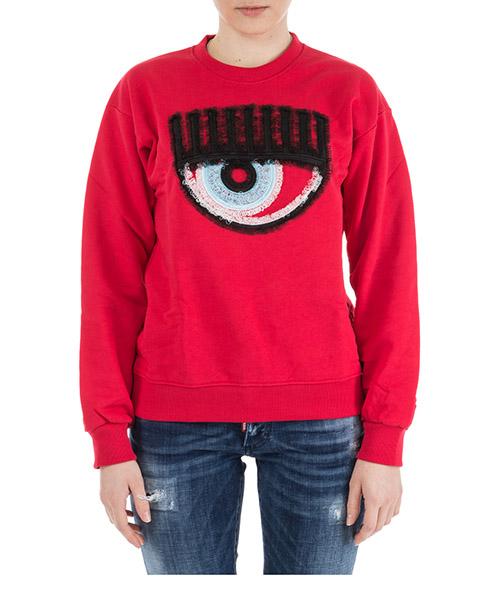 Sweatshirt Chiara Ferragni Logomania CFF057.ROSSO rosso