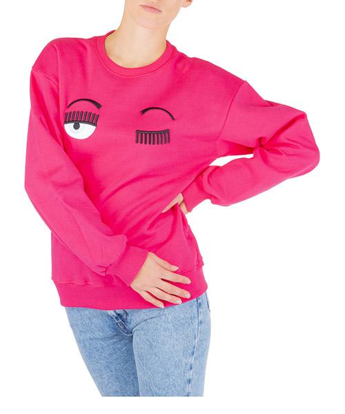 Sweatshirt Chiara Ferragni Flirting CFF082 ROSA rosa