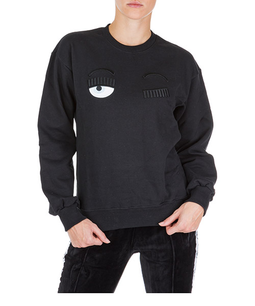 Sweatshirt Chiara Ferragni Flirting CFF082 nero