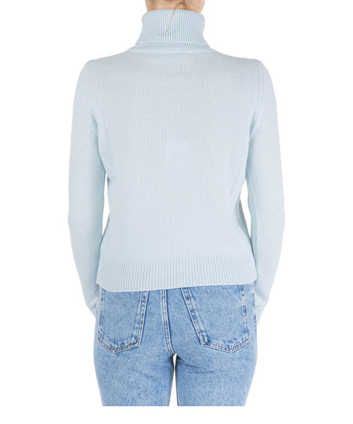 Dolcevita collo alto maglione maglia donna flirting secondary image