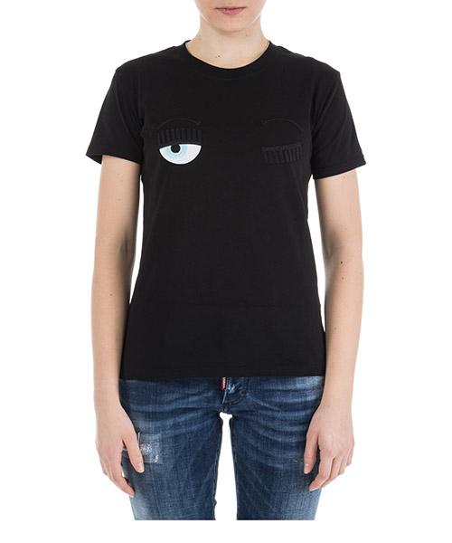 T-shirt Chiara Ferragni Flirting CFT057.NERO nero