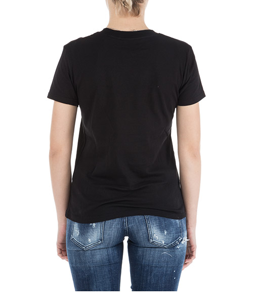 Camiseta de mujer de cuello redondo con mangas cortas flirting secondary image