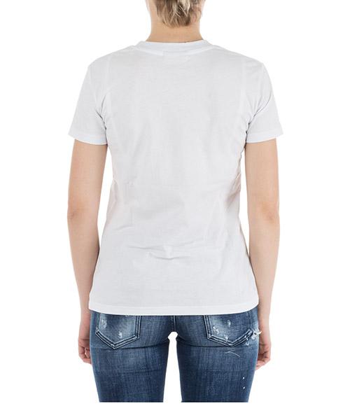 Women's t-shirt short sleeve crew neck round flirting secondary image