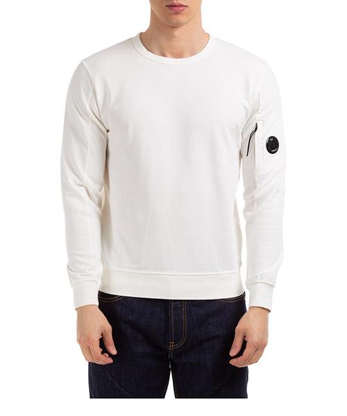 Sweatshirt C.P. Company 08CMSS053A002246G10 bianco