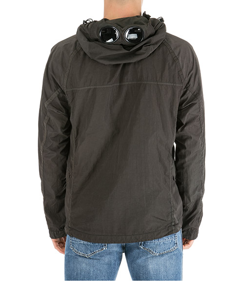 Men's outerwear jacket blouson cappuccio googlr secondary image