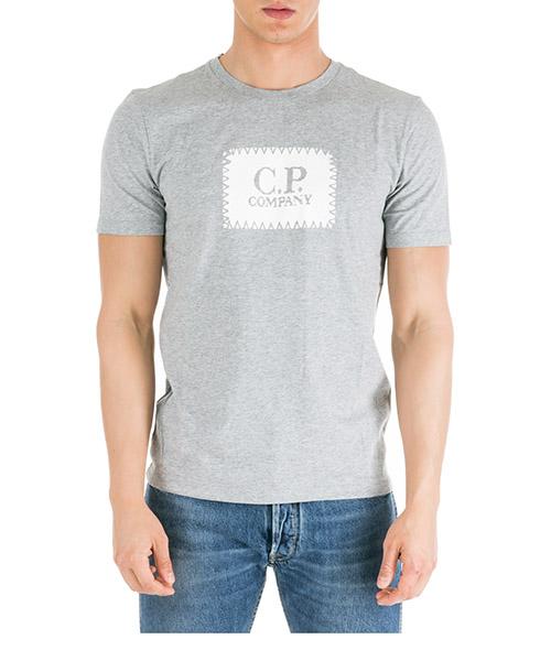 T-shirt C.P. Company 06CMTS042A005100W grigio