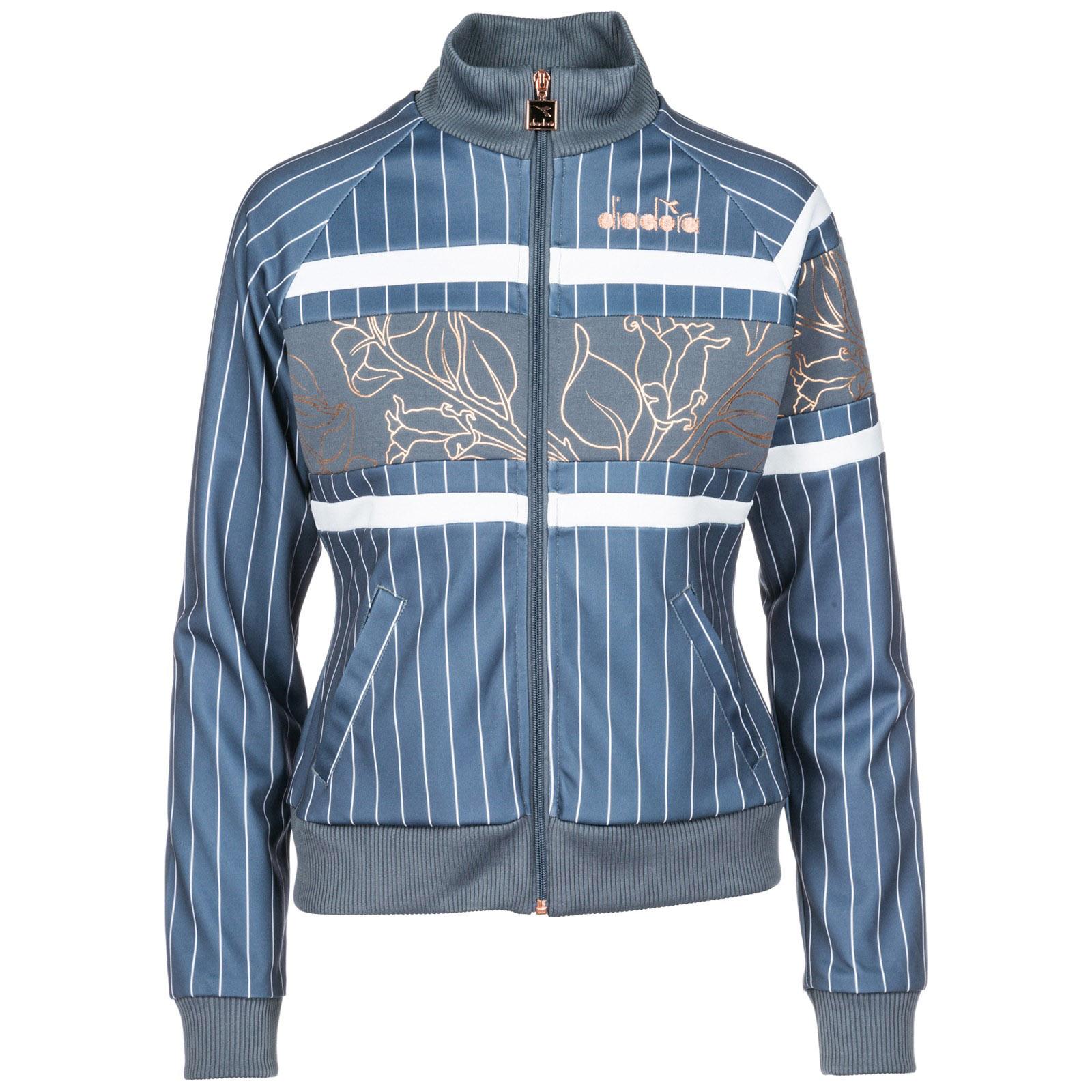 Sweatshirt Mit Zip Diadora 502 174004 Grigio Frmoda Com