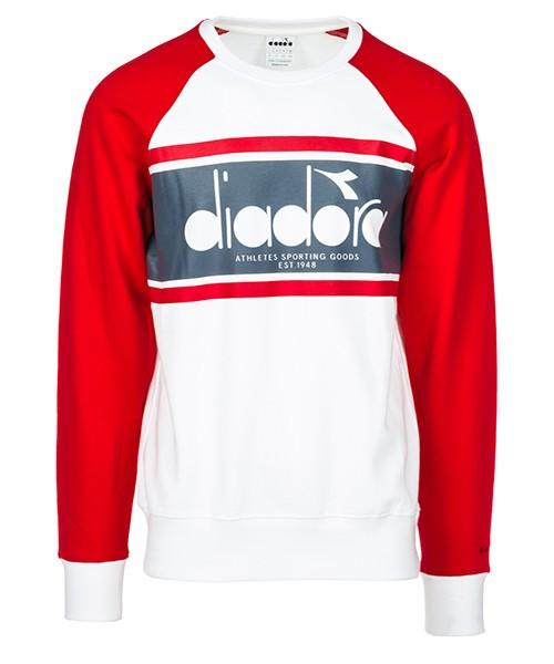 Felpa Diadora 502.173626 bianco