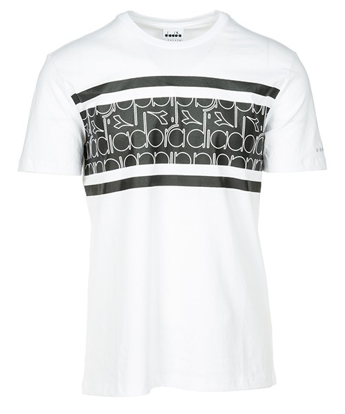 T-shirt Diadora 502.173627 white / black