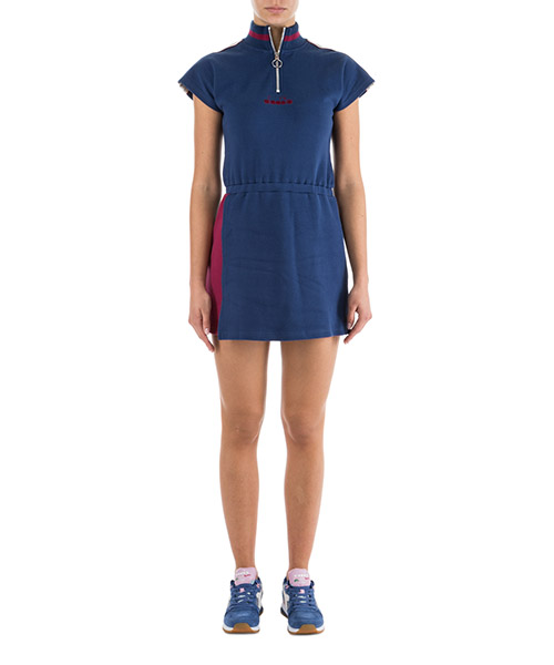 Short mini dress Diadora 502.173643 C7547 blu