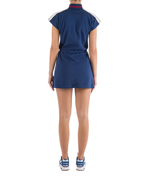 Women's knee length dress short sleeve secondary image