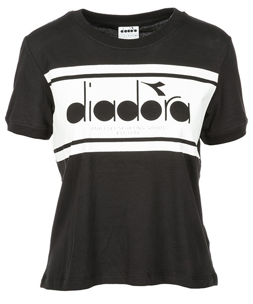 T-shirt Diadora 502.173913 black - white