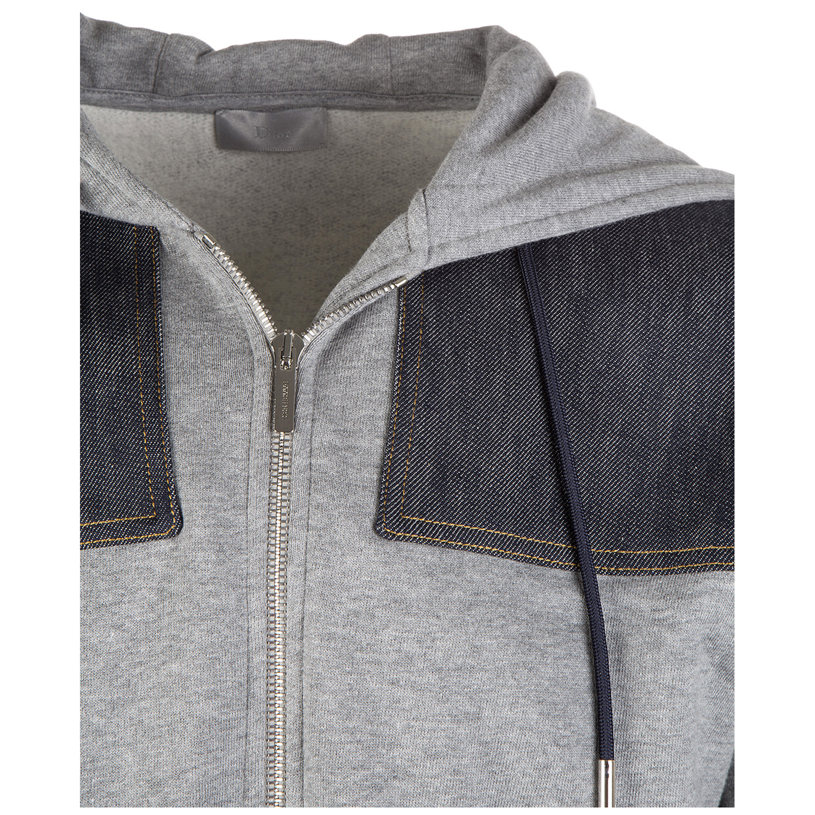 Sweat shirts à capuche homme denim