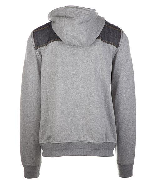 Men's hoodie sweatshirt sweat denim secondary image