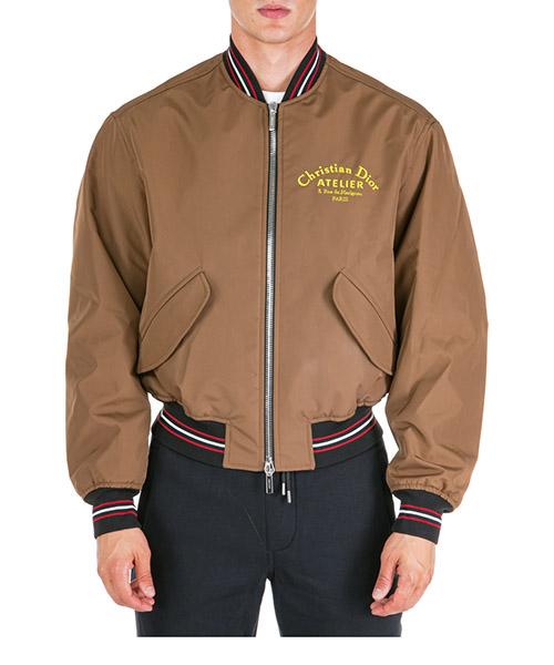 Bomber jacket Dior 733C454W9338170 beige