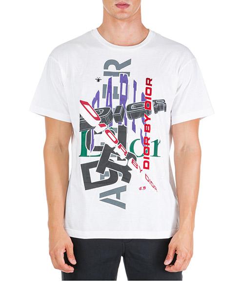 T-shirt Dior 863J611P3312089 blanc