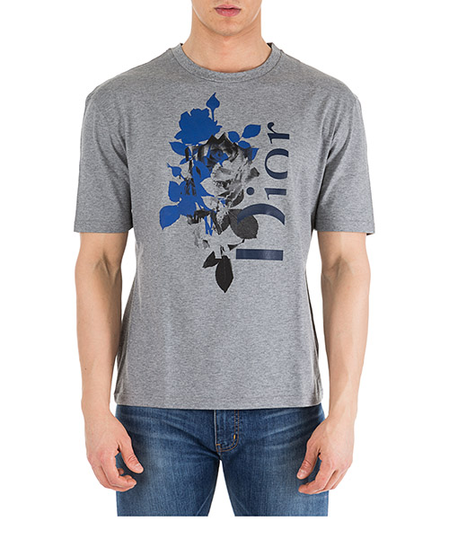 Camiseta Dior 863J621I6312-803 gris