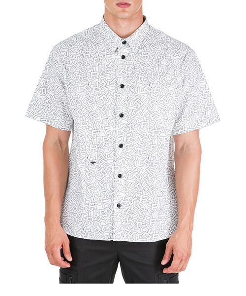 Camisa de manga corta Dior 963C503B4405079 blanc