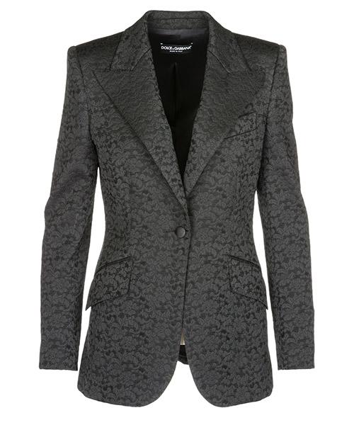Blazer Dolce&Gabbana f293ptfjmtjn0000 nero