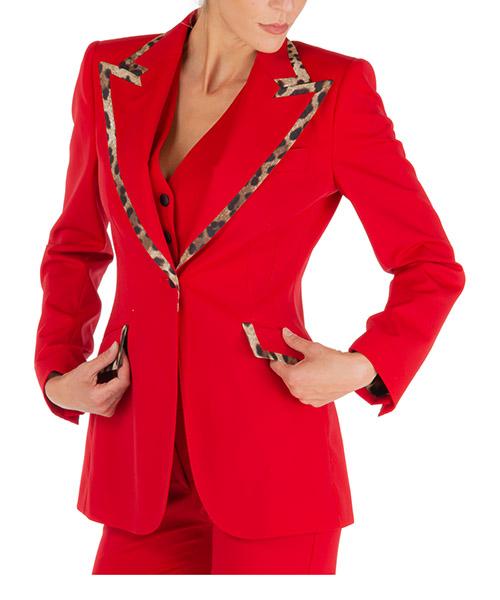 Giacca Dolce&Gabbana turlington f297qtfubeir0156 rosso