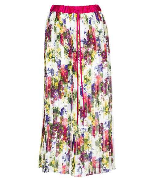 Длинная юбка Dolce&Gabbana F4BFXTHSMUMHAP97 bianco