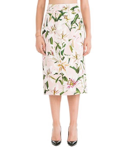 Jupe Dolce&Gabbana f4bl4tfsrljhfkk8 rosa
