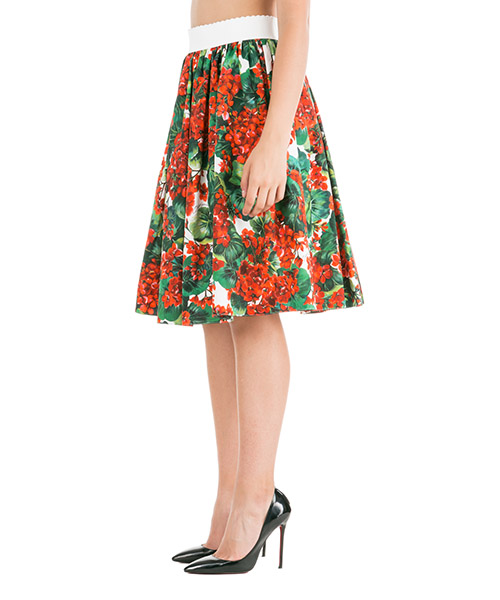 Women's skirt knee length midi portofino secondary image