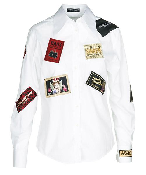 Shirt Dolce&Gabbana F5J82TFU5K9W0800 bianco