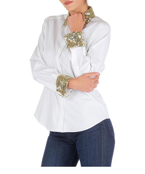 Camicia Dolce&Gabbana f5l31tfueajs9340 bianco