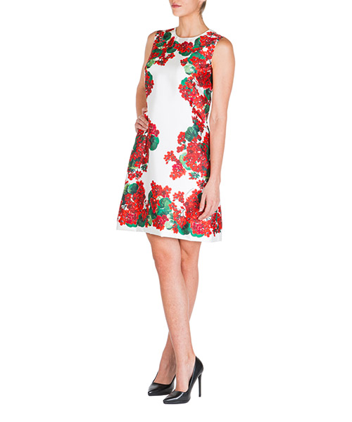 Minikleid Dolce&Gabbana f6d4ntgdm77hav03 bianco