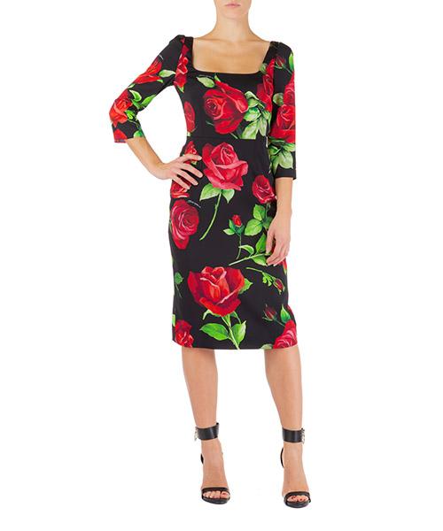 Vestito al ginocchio Dolce&Gabbana f6f5ptfsay1hn01a nero