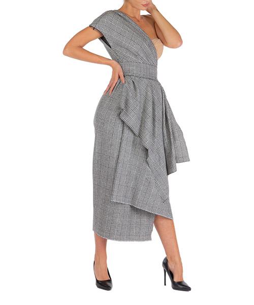 Vestito al ginocchio Dolce&Gabbana f6g6ltfqrbqs8100 grigio