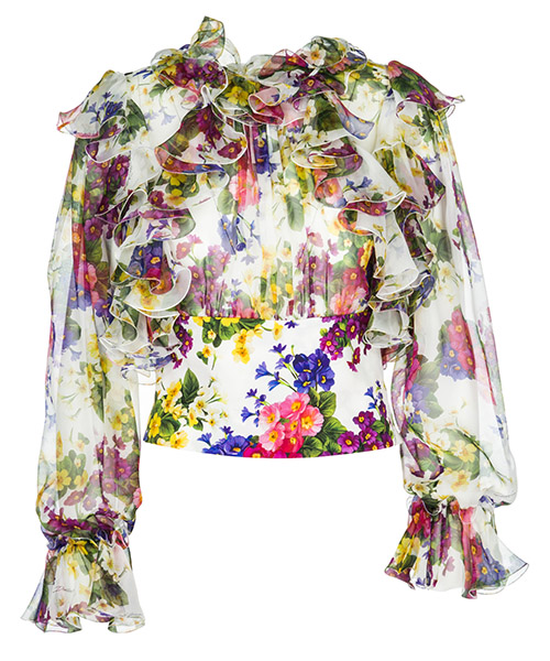 Shirt Dolce&Gabbana F72P3THS1UIHAP97 bianco