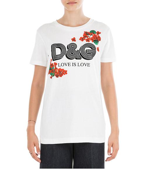 Camiseta Dolce&Gabbana F8H32TG7THNW0800 bianco