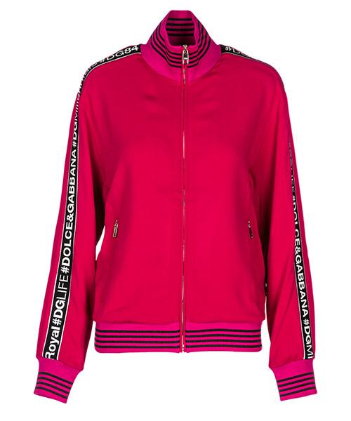Sweatshirt mit Zip Dolce&Gabbana F9D05TG7QHQF4079 fucsia