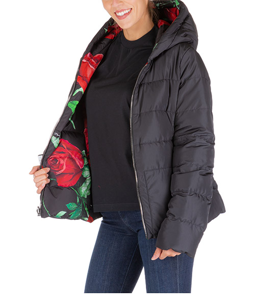 Women's outerwear jacket blouson hood secondary image