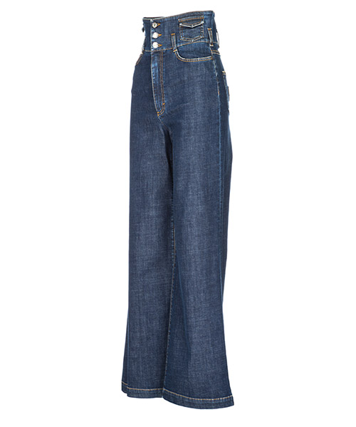 Jeans donna a palazzo secondary image