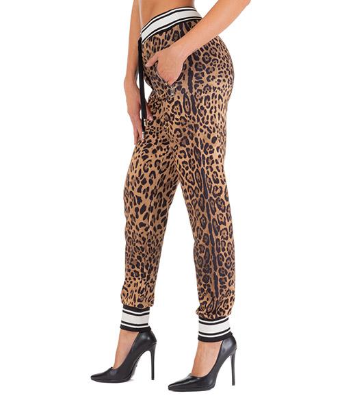 Pantaloni tuta Dolce&Gabbana ftbj7thh780hherm marrone