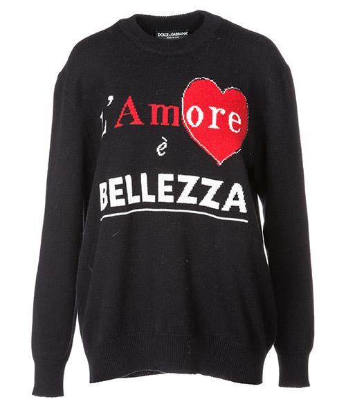 Pullover Dolce&Gabbana FX181TJAWGSS9001 black