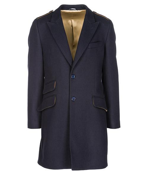 Cappotto Dolce&Gabbana G001QTFURFMB3681 blu