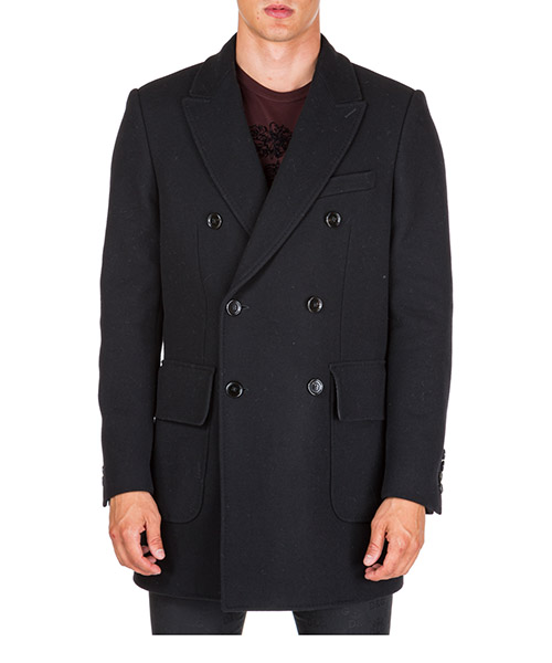 Cappotto Dolce&Gabbana g008ethumdqn0000 nero