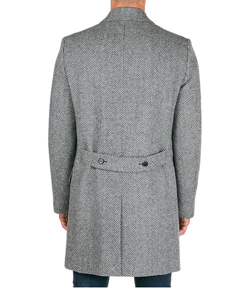 Double boutonnage manteau homme secondary image