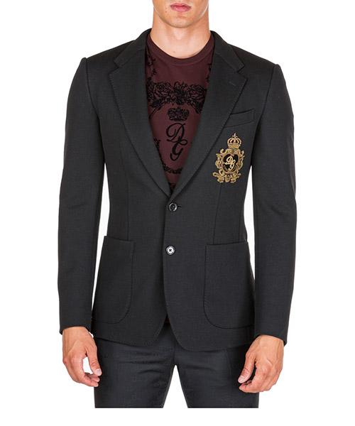 Blazer Dolce&Gabbana g2nf1zfugi6n0000 nero