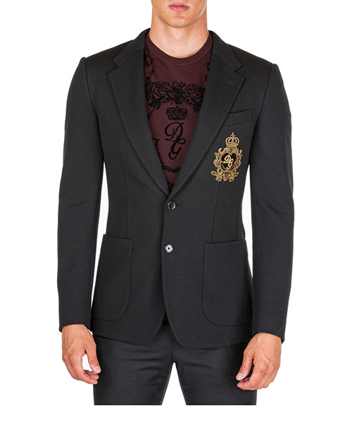 Giacca Dolce&Gabbana g2nf1zfugi6n0000 nero
