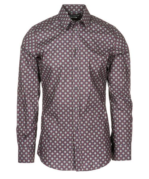 Shirt Dolce&Gabbana G5CX5TFS5T0X0800 bordeaux