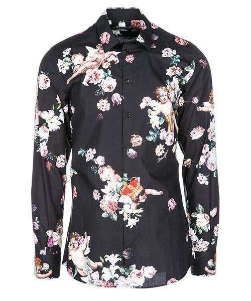 Hemd Dolce&Gabbana G5EJ0THS5AJHNR86 nero