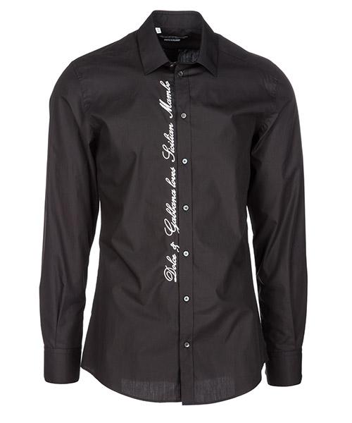 Hemd Dolce&Gabbana G5EJ0ZFU5K9N0000 nero