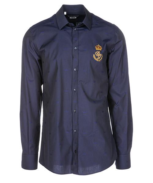 Hemd Dolce&Gabbana G5EJ1ZFJ5FPS8351 blu