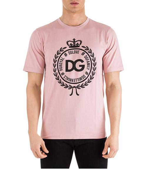T-shirt Dolce&Gabbana G8HV4TFU7EQF0662 rosa