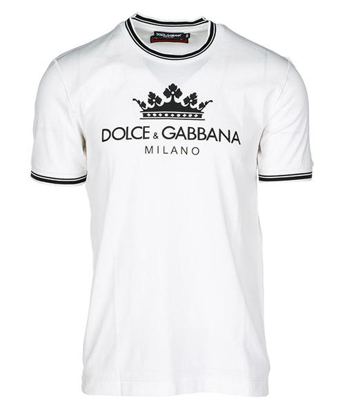T-shirt Dolce&Gabbana Logo Print G8IR4TFU7EQW0800 bianco